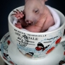 Baby wombat in a tea cup